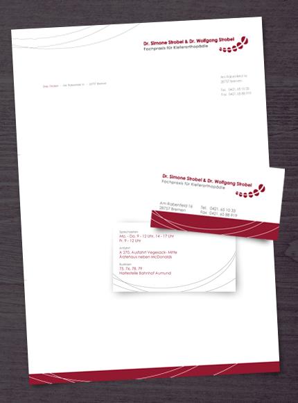 Visitenkarten Briefpapier